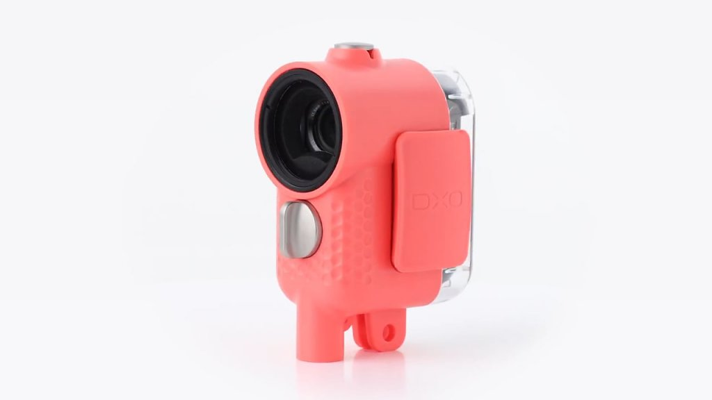 Packshot 360° Outdoor Shell (coral)